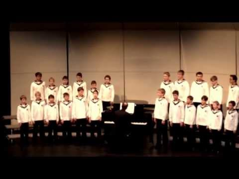 2014 Nov 16 01 VIENNA BOYS CHOIR - The Sound of Music (The Hills are Alive)