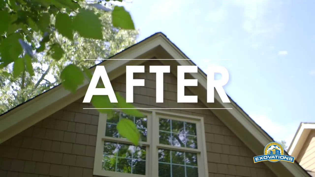Home exterior remodel start to finish youtube for Outside renovation ideas