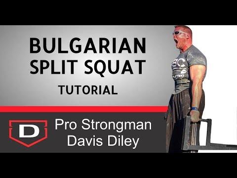 Bulgarian Split Squats: A Simple Tutorial thumbnail