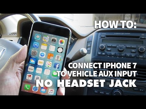 super popular b9268 e29ca How to Use iPhone 7 with No Headphone Jack in Your Car – Listen to ...