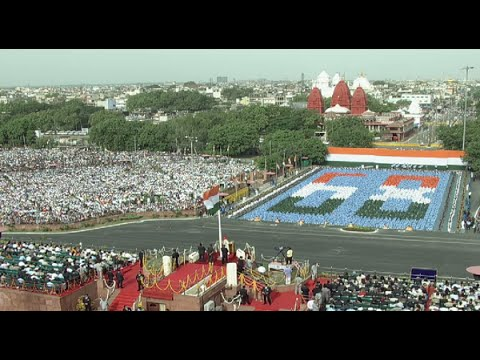 PM Shri Narendra Modi address to the nation on 68ᵗʰ Independence Day - 15th August 2014