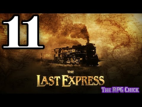 Let's Play The Last Express (Blind), Part 11 of 12: Duels Atop the Train