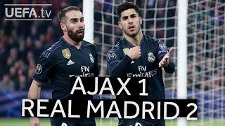 AJAX 1-2 REAL MADRID #UCL HIGHLIGHTS