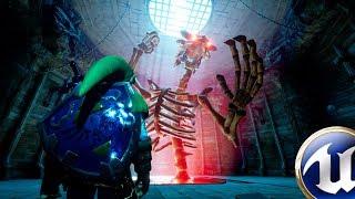 Unreal Engine 4 - Zelda - Stallord Boss Battle [Download]