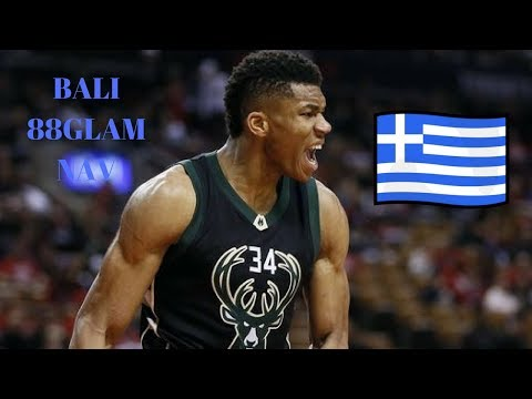 Giannis Antetokounmpo Bali -88GLAM FT NAV (NBA MIX HD)