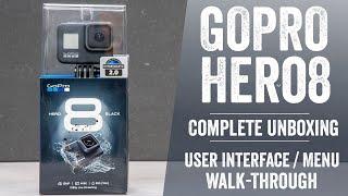 GoPro Hero 8 Unboxing // Complete User Interface Walk-Through