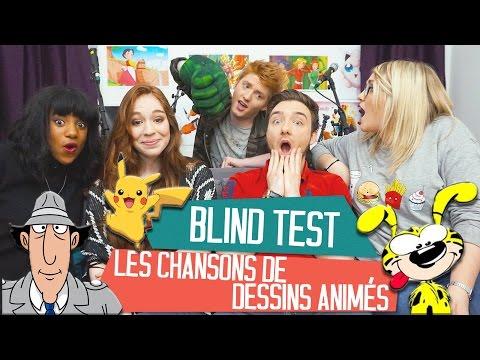 BLIND TEST Les meilleures chansons de dessins animés avec DAVID LAFARGE et MISSJIRACHI