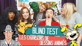 [BLIND TEST] Les meilleures chansons de dessins animés... avec DAVID LAFARGE et MISSJIRACHI