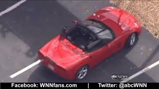 Valet Takes Corvette on Joyride Caught on Tape