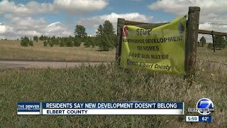 Elbert county neighbors fight 920-home development