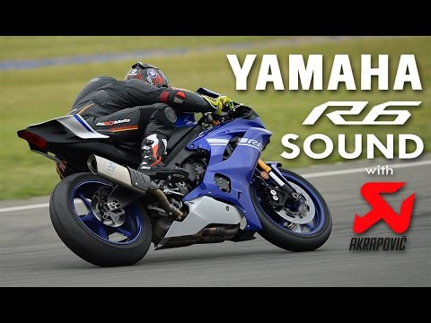 Yamaha YZF R6 2017 On Board Pure Sound