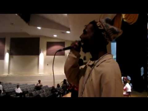 Young Dolph Performes At Whitehaven High School (Watch in Hd)