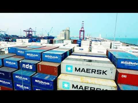 Film Congo Terminal - Port autonome de Pointe Noire - Bolloré Ports