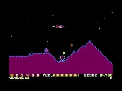 Scramble for the Atari 8-bit computers