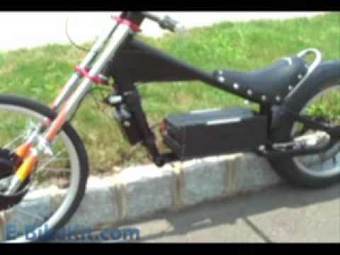 E Bike Fast Electric Chopper Conversion Youtube