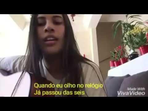 Mesmo sem estar - Ana Gabriela (LETRA)