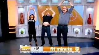 Cbs New York - Wrestling Legends Diamond Dallas Page And Jake 'the Snake' Roberts Practice Ddp yoga