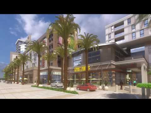 Future Plaza at Burbank Town Center