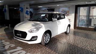 2018 Maruti Suzuki Swift   White Colour   Exterior And Interior   Walk Around Video