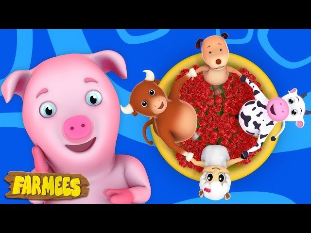 Ringa Ringa Roses | Nursery Rhymes songs | Kids Songs | Baby Rhymes by Farmees