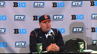Illinois Baseball Postgame Press Conference Big Ten Tournament First Round 5/20/15