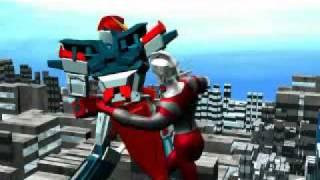 Video Ultraman vs Gundam animation download MP3, 3GP, MP4, WEBM, AVI, FLV Mei 2018