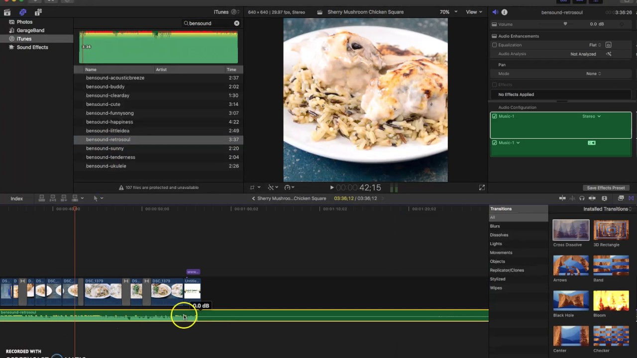How to edit a short form food video in final cut pro x part 3 how to edit a short form food video in final cut pro x part 3 forumfinder Image collections