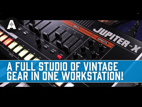 Roland Jupiter X Synth - A Full Studio of Vintage Gear In One Workstation!