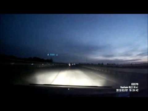 Espiritus Fantasmas en la Carretera central Inpactante choque