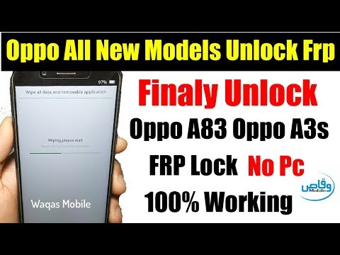 oppo a83 remove frp - Myhiton