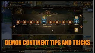 Wartune :- Tips And Tricks For Getting Further In Demon Continent