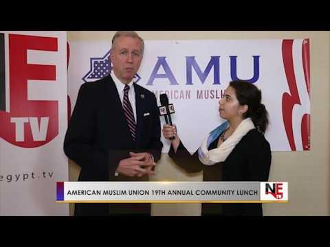 John Wisniewski interview (American Muslim Union 19th Annual Community Lunch )