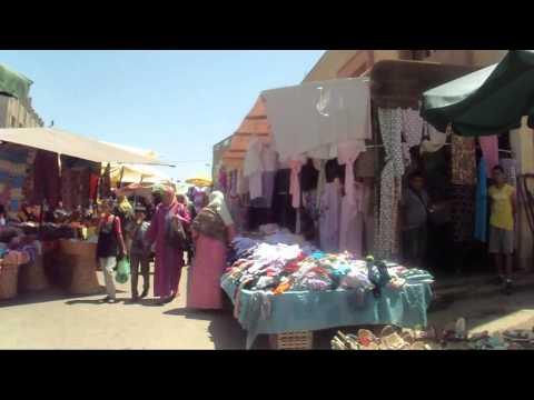 Berkane Maroc le marche