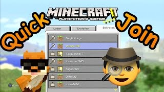 Minecraft PS3 - Quick Join ;)