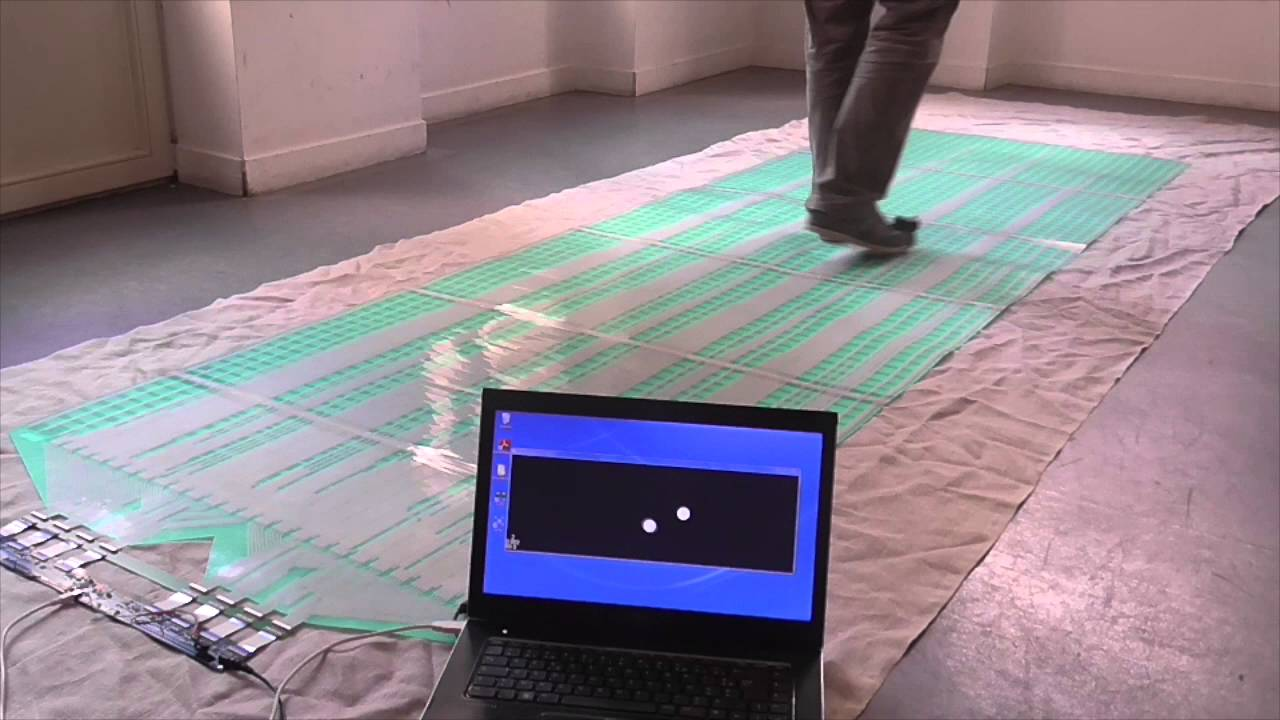 Smart floor tile for virtual reality in motion by epawn Virtual flooring