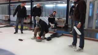 Dutch Curling team training praag. Praagse lente 2013