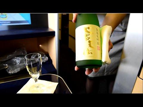 ANA First Class Suite (Star Wars 777) Tokyo Narita to New York JFK NH104