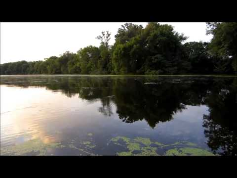 Fishing the Apple River in Amery Wisconsin