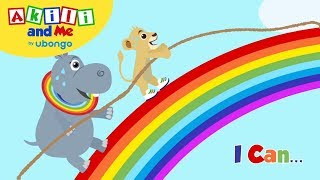 I Can... | Read with Akili and Me | African Educational Cartoons