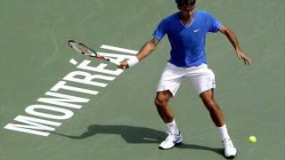 Rafael nadal & Roger Federer -firework