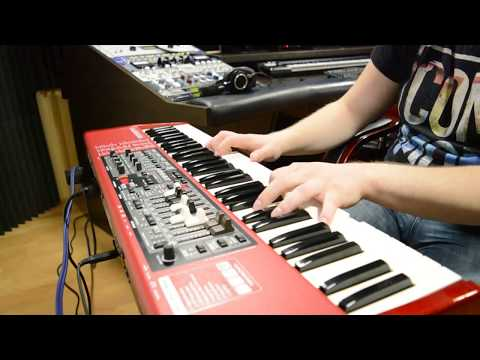 Piano & Electro Piano demo sounds review on Nord Electro 4D (HD)