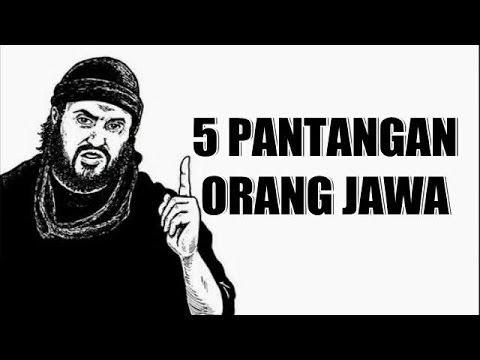 Download 5 Pantangan Orang Jawa yang TIDAK BOLEH DILANGGAR