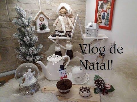CAFÉ DA MANHAl  SHOPPINGl DECORAÇAO DE NATAL| GIOVANNA LISBOA| VLOGMAS 14