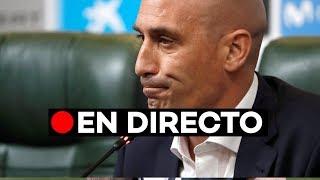 Directo: Luis Rubiales, presidente de la RFE, habla de la destitución de Lopetegui