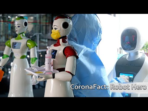 Robots Helps To Fight Covid -19 Epidemic – Coronafact