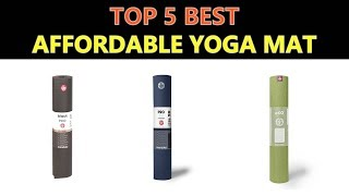 Are you looking for the Best Affordable Yoga Mat. We spent hours to find out the Best Affordable Yoga Mat for you and create a review video. In this video review ...