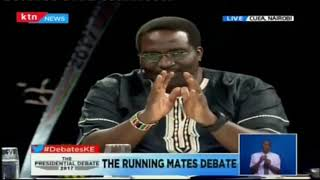 Only one candidate shows up for the Presidential Running Mates Debate in CUEA