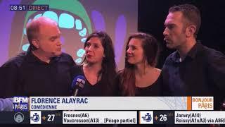 BFM TV parle de « NEW - La comédie musicale improvisée » // Replay 28 nov 2018