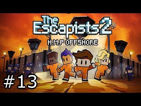THE ESCAPIST 2 #13 - MULTIJUGADOR EN H.M.P OFFSHORE | GAMEPLAY ESPAÑOL