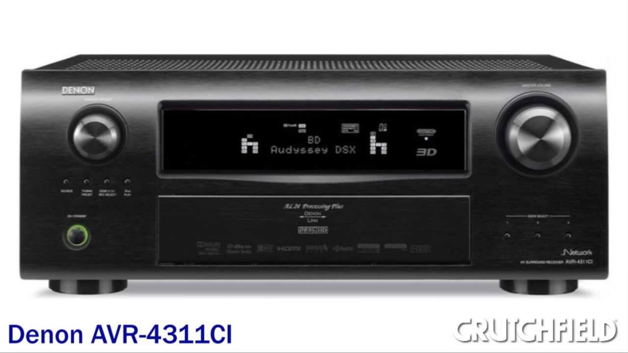 Denon Network Receivers with Apple AirPlay Demo | Crutchfield Video